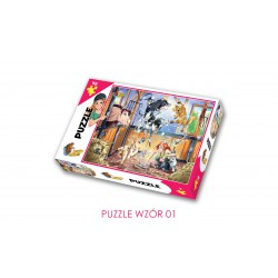 Puzzle- Lucky Horse